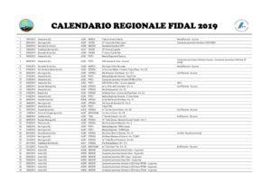 Fidal It Calendario.Calendario Fidal Piemonte 2019 Atletica Cairo